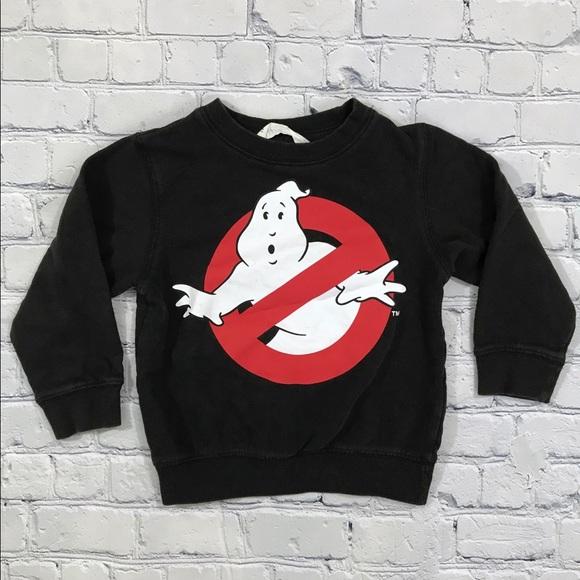 4d860f07 H&M Shirts & Tops | Hm Toddler Ghostbusters Sweatshirt | Poshmark